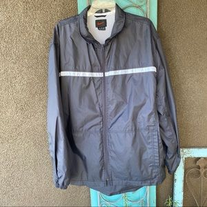 Men's Nike zip up windbreaker jacket